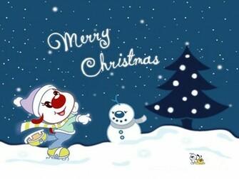 Cute Cartoon Christmas Wallpaper 11186 Hd Wallpapers in Celebrations