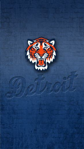 Detroit Tigers   iPhone 5 wallpaper by LicoriceJack