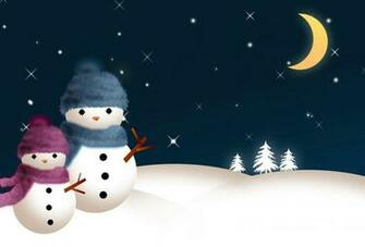 Snowman Background wallpapers WIN10 THEMES