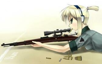 Anime Material Sniper Wallpaper 1920x1200 Anime Material Sniper