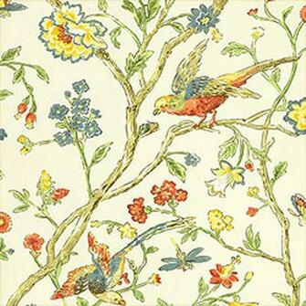 Thibaut Aviary T5834   Select Wallpaper Designer Wallpapers Direct