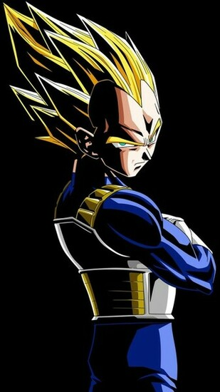Vegeta   Dragon Ball Z Mobile Wallpaper 4053