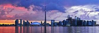 downtown toronto vs greater downtown toronto skyline night viewjpg