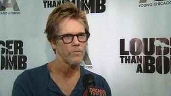 Actor Kevin Bacon Speaks With Young Chicago Authors Chicago News