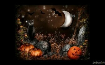 Download Artsy Halloween Scenes Screensaver Artsy Halloween