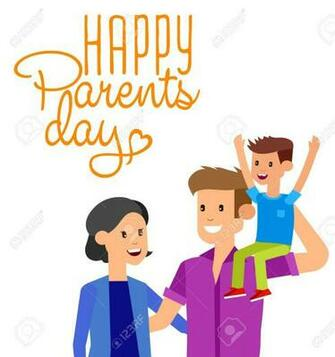 Happy Parents Day Background Happy Parents Day Card Calligraphy