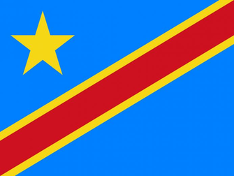 Wallpaper Of The Flag Of The Democratic Republic Of The Congo