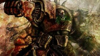 Artwork chaos space marine Warhammer 40k wallpaper 1920x1080