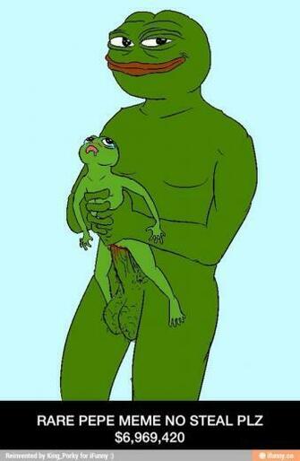 Pepe Funny Meme Rare