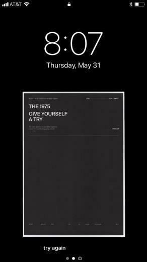 Give Your Wallpaper a Try the1975