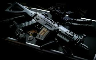 Central Wallpaper Mp5 Machine Gun Photos HD Wallpapers