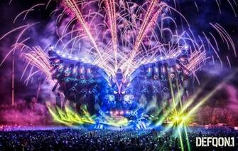 Clay Paky takes flight at Defqon1 Show Technology Australia