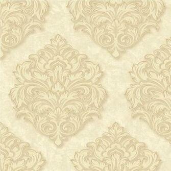 Arthouse Opera Da Vinci Damask Wallpaper 405101 Cream