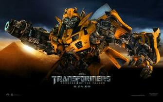 Bumble Bee from Transformers Revenge of the Fallen Movie wallpaper