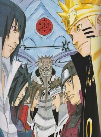 Indra Ashura Naruto Wallpapers