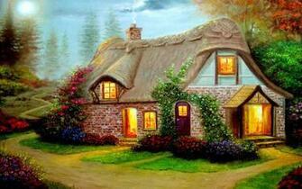 Beautiful Cottage High Definition Widescreen Wallpaper