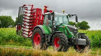 Wallpaper Agricultural machinery Tractor 2011 18 Fendt 724 1920x1080