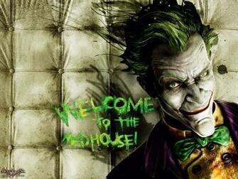 Pics Photos   The Joker Arkham Asylum Smiling Wallpaper