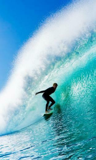 free 768X1280 Fantastic Surfing 768x1280 wallpaper screensaver preview