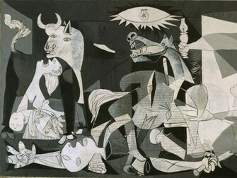 Wallpapers Download 1280x960 pablo picasso guernica Wallpaper
