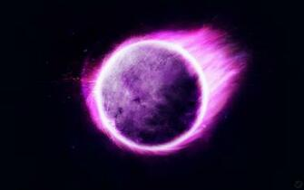 Strange Purple Planet HD Wallpapers