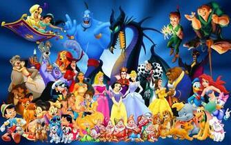 Disney Cartoon Characters computer desktop wallpaper
