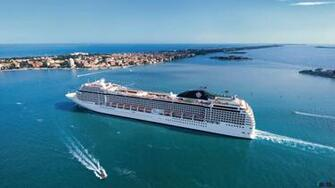 Wallpaper Cruise ship MSC Poesia 1366 x 768 Desktop wallpapers