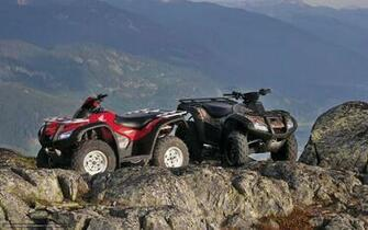 Black Bike Honda Atv Wallpapers Download Desktop