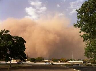 NWS Lubbock TX October 17th Haboob   Severe Winds and Blowing Dust