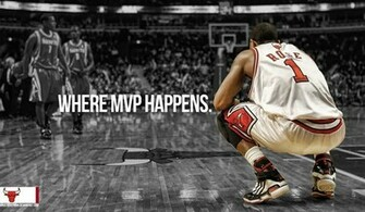 Derrick Rose Wallpaper Where MVP Happens NBA Picture Gallery