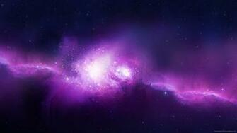 Download 2560x1440 Purple Space Wallpaper