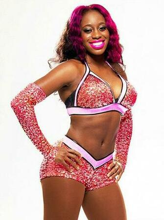 WWE Diva Naomi hair and attire manip Wwe divas Wwe girls Naomi wwe