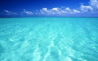 blue ocean seascapes 1920x1200 wallpaper Nature Oceans HD Desktop