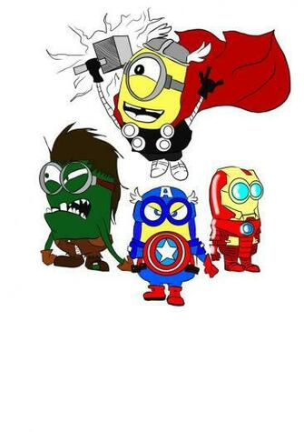 Minions Avengers by HailMyself