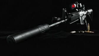 Sniper Cool Guns Wallpaper Widescreen Wallpaper WallpaperLepi