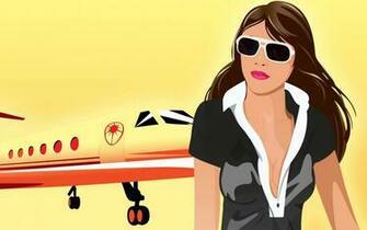 Flight attendant wallpaper 15787