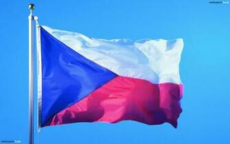 The flag of Czech Republic HD Wallpaper