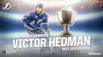 Hedman of Lightning wins Norris Trophy as best defenseman in NHL