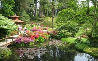 Japanese Garden Landscape Pictures Photograph 27217 Japane