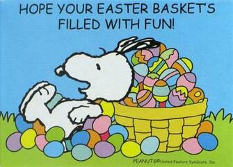 Snoopy Easter Mini Jigsaw Puzzle Snoopn4pnutscom