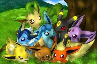 Eevee Evolutions wallpaper   ForWallpapercom