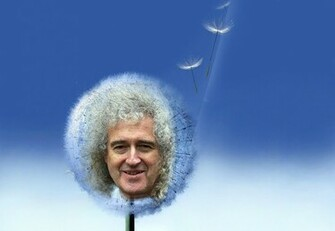Samsung Galaxy Dandelion Brian May by Oceansoul7777