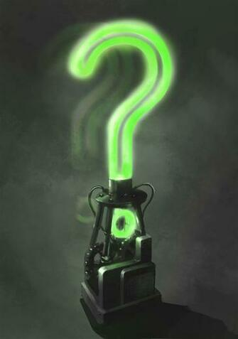 The Riddler Question Mark Wallpaper 1055 x 1500 batman arkham