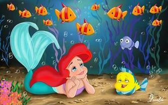 Desktop Wallpapers for Widescreen High Definition Little Mermaid HD