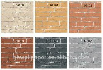 Other modern brick wallpaper designs washable wallpaper for kitchen as