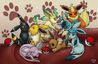 Cute Eevee Evolutions Wallpaper Eevee evolution by darkrenka