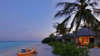 Exotic Beach Villa Wallpapers   10183